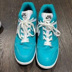 Nike x Supreme Air Force 2 - Teal - Size 13